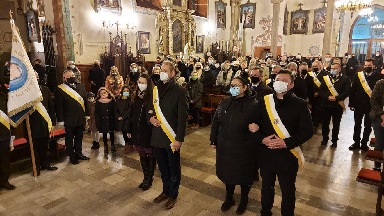 Rycerze Kolumba oficjalnie w szydłowieckiej parafii