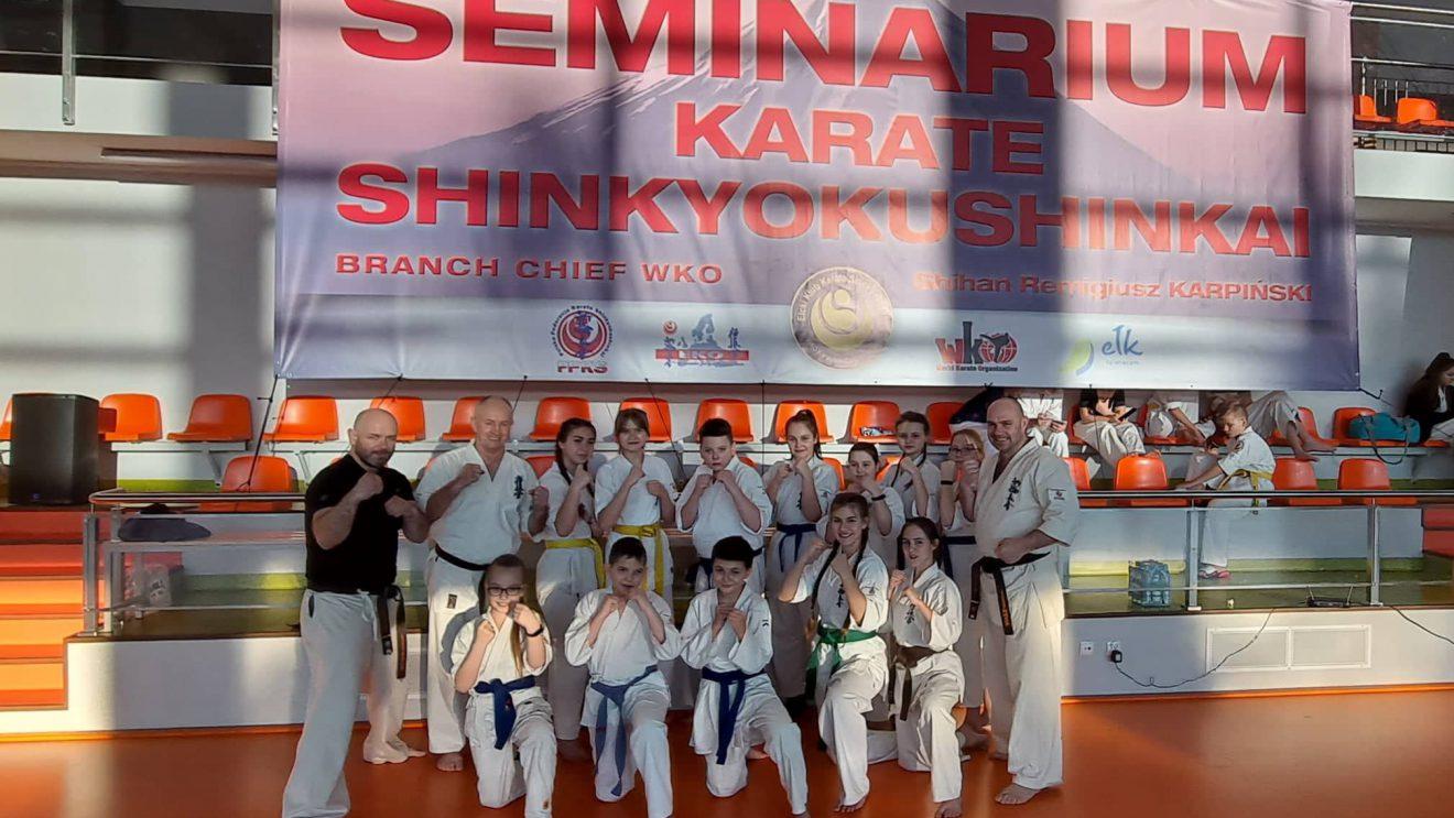Karatecy wzięli udział w seminarium