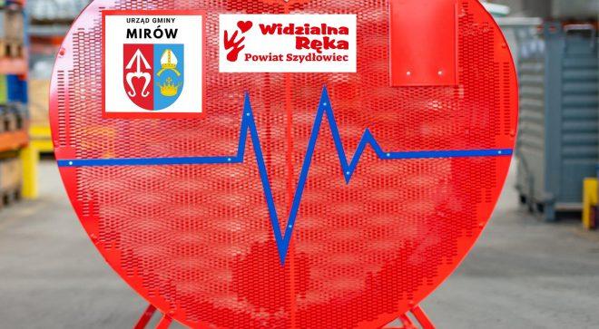 Metalowe serca na terenie powiatu szydłowieckiego