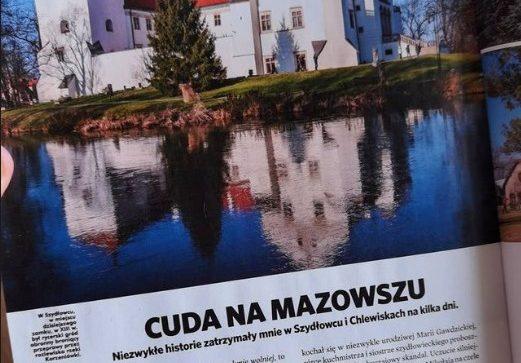 O Szydłowcu i Chlewiskach w najnowszym numerze National Geographic Traveler