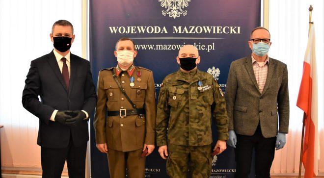 Roman Burek i Andrzej Górski odznaczeni Medalem Stulecia Odzyskanej Niepodległości