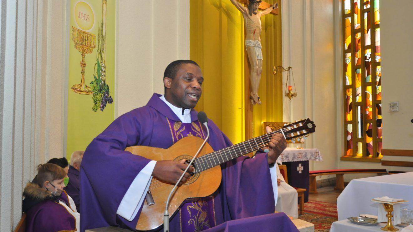 Rekolekcjonista z Togo w Orońsku