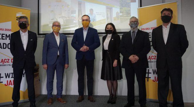 Polska 2050 Szymona Hołowni przedstawiła liderów w regionie radomskim