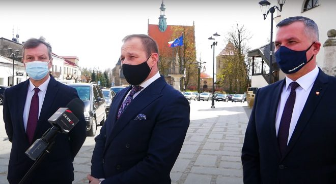 Europoseł Andrzej Halicki odwiedził Szydłowiec