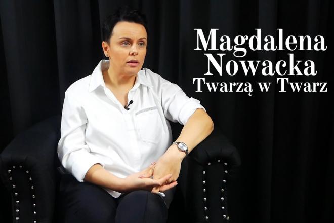 Magdalena Nowacka – Twarzą w Twarz #2