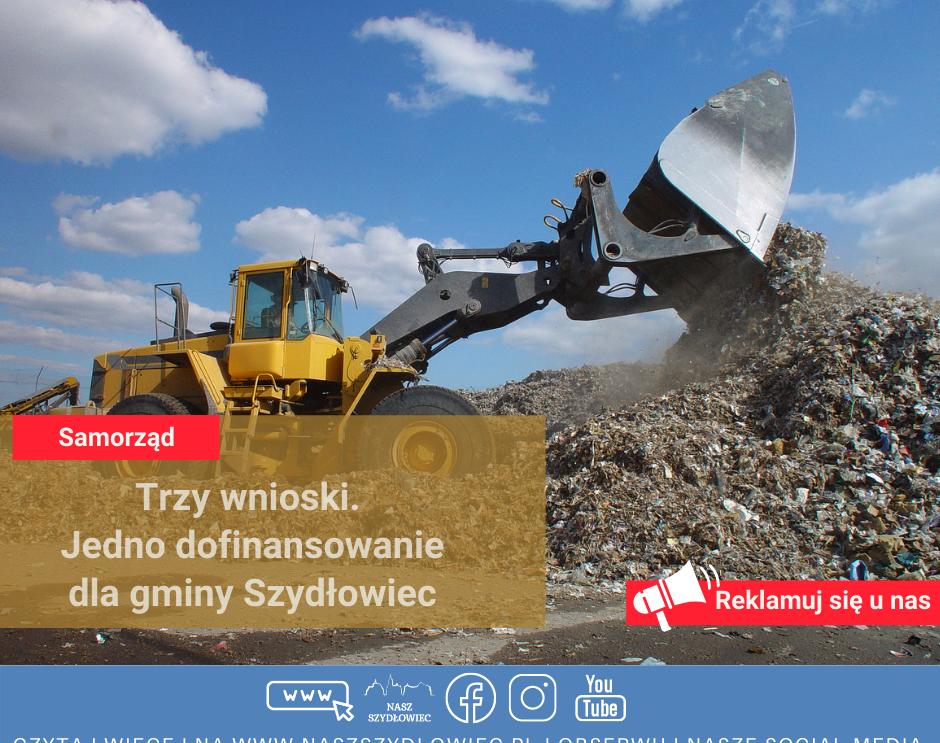 Trzy wnioski. Jedno dofinansowanie dla gminy Szydłowiec.