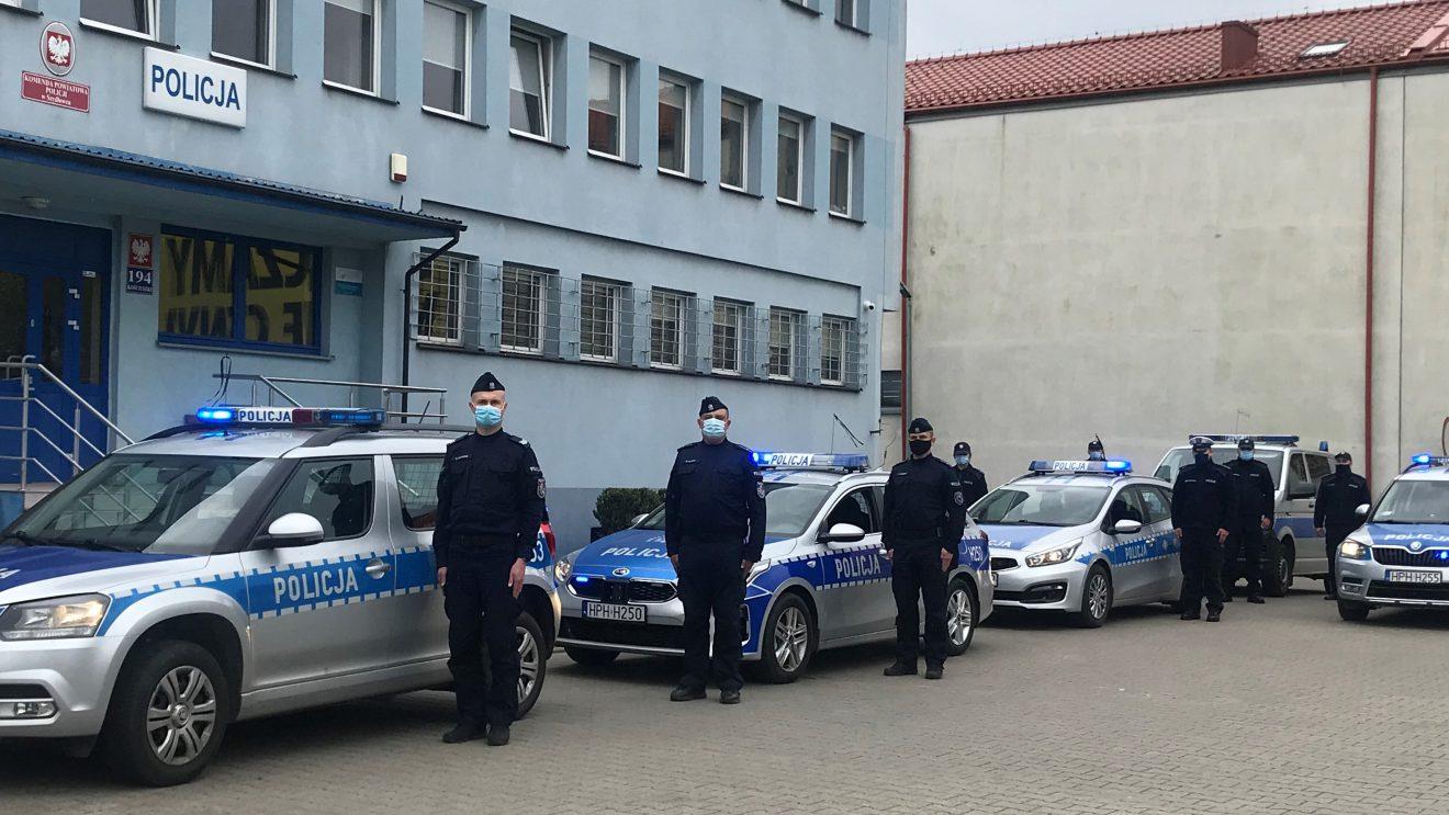 Szydłowieccy policjanci oddali hołd zastrzelonemu policjantowi