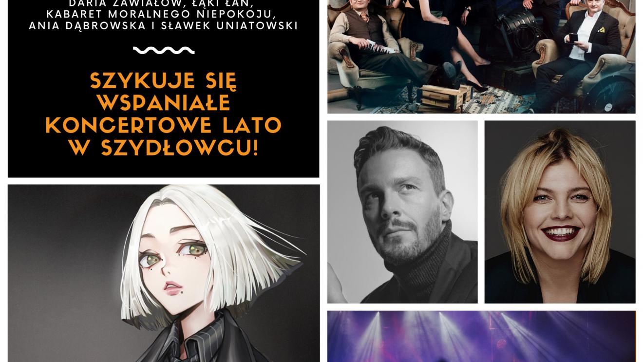 To będzie koncertowe lato w Szydłowcu!