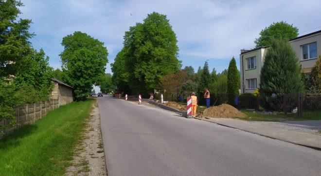 Przebudowa infrastruktury drogowej w gminie Mirów