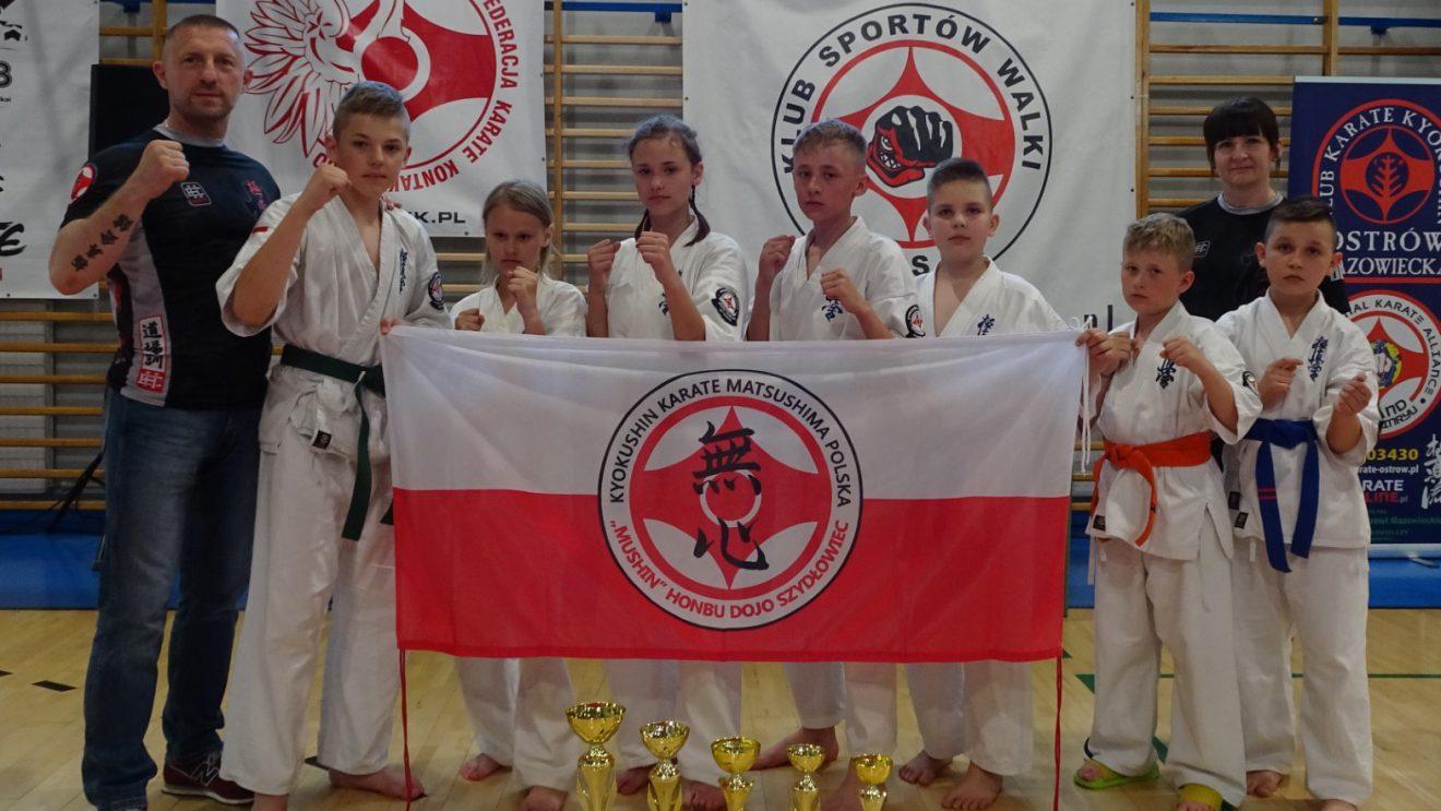 """Sukces zawodników UKS Karate Kyokushin """"MUSHIN"""" Szydłowiec"""