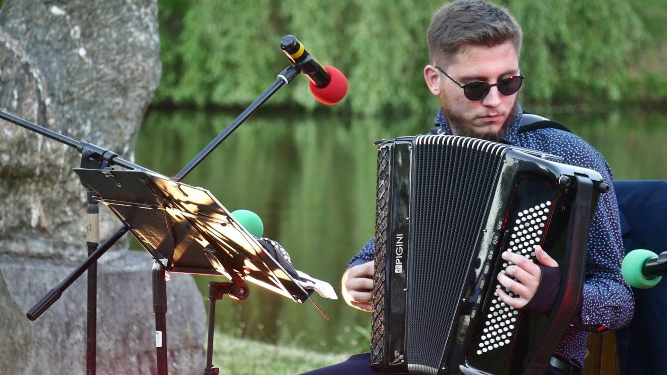 Akordeonowy koncert Dominika Żaka