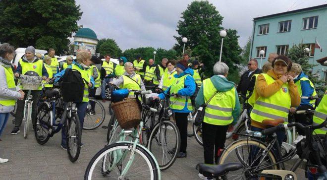 Udany rajd rowerowy w Mirowie