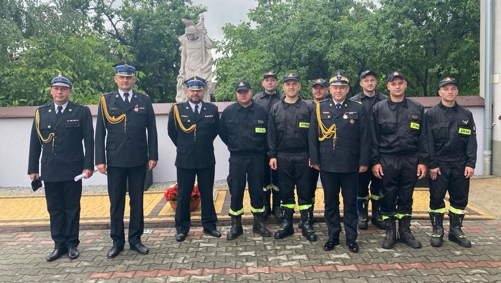 Mazowiecki Komendant Wojewódzki PSP z wizytą w szydłowieckiej straży