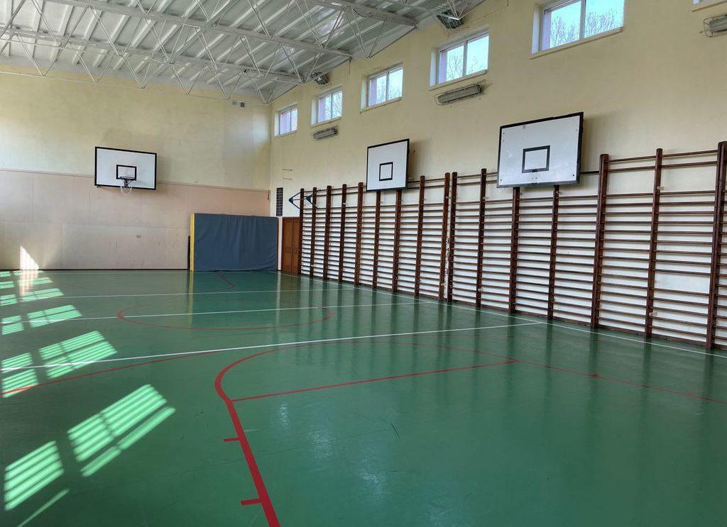Remont sali gimnastycznej w ZS im. KOP ze wsparciem samorządu Mazowsza