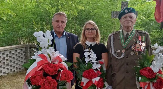 Uczcili pamięć poległych w czasie wojny