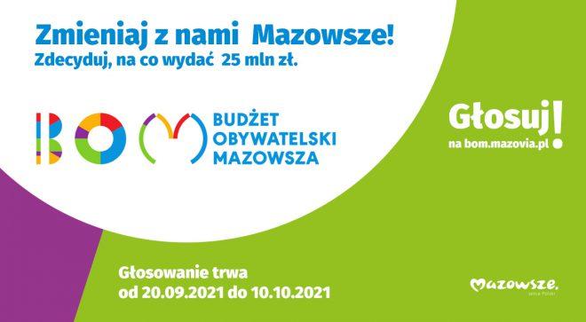 Dwa szydłowieckie projekty w Budżecie Obywatelskim Mazowsza
