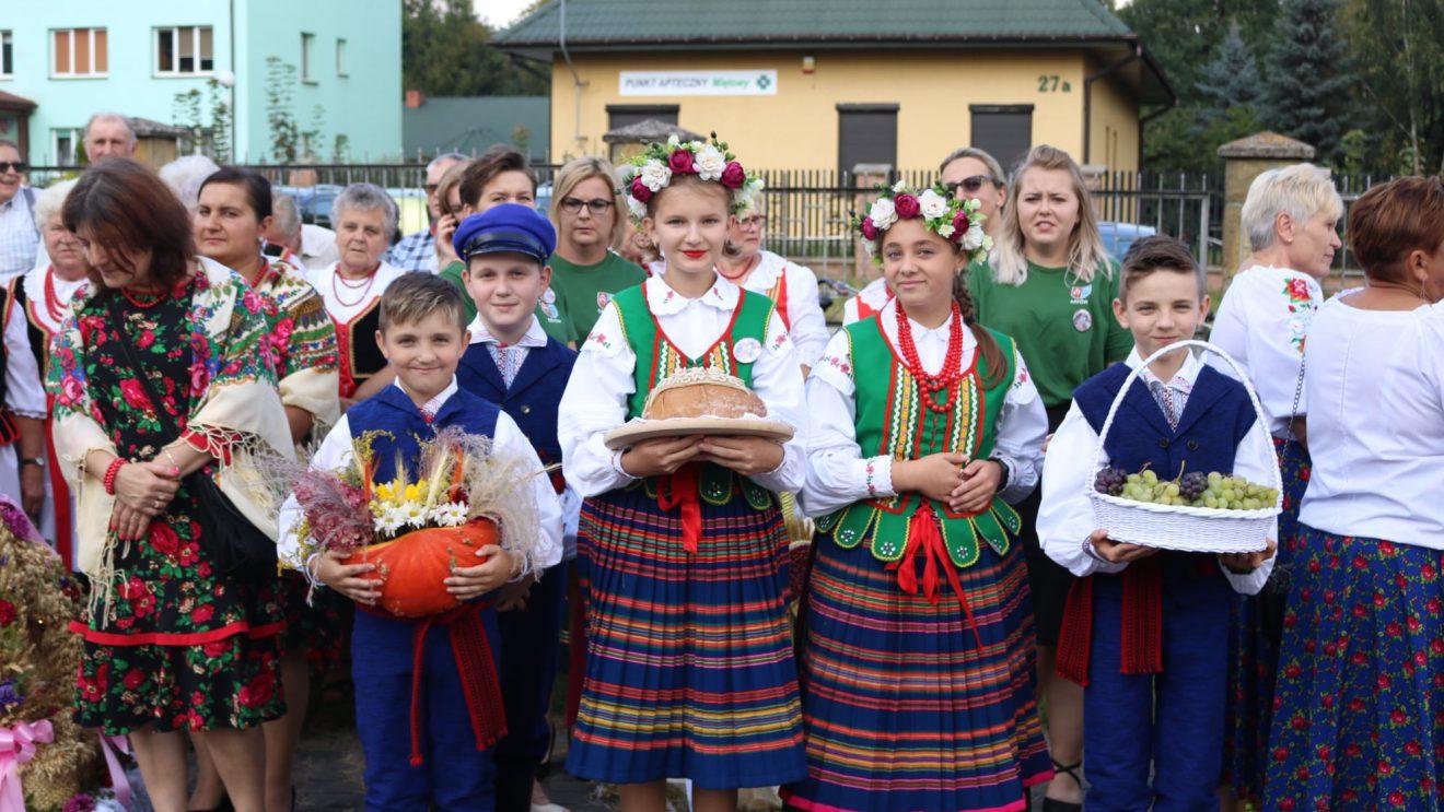 Udane dożynki w gminie Mirów