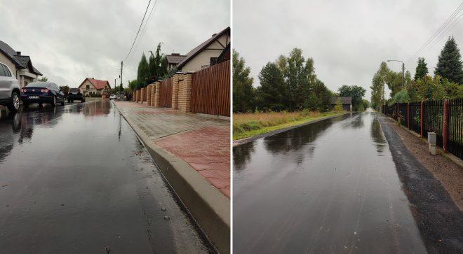 Dwie drogi gminne odnowione