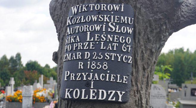 Odnowili pomnik leśnika Wiktora Kozłowskiego