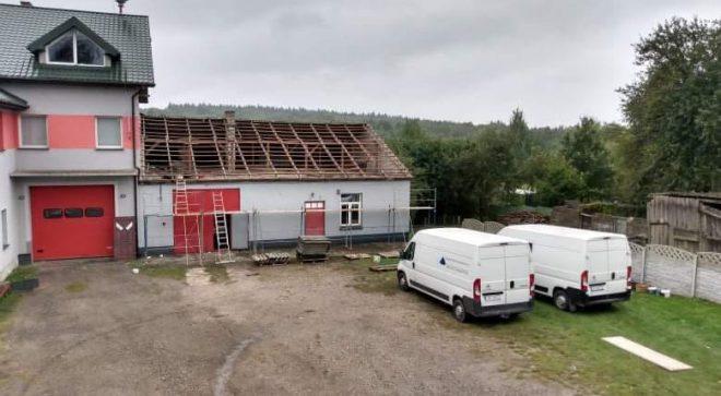 Rozpoczęła się przebudowa remizy Ochotniczej Straży Pożarnej w Majdowie