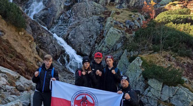 Karatecy zdobywali kondycję w Tatrach