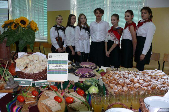 Kuchnia regionalna w wykonaniu uczniów Zespołu Szkół im. Korpusu Ochrony Pogranicza