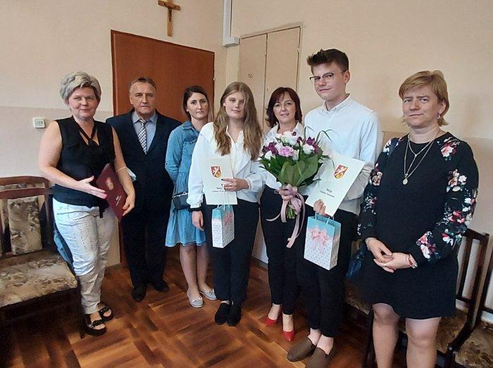 Uczniowie PSP im. Józefa Brandta w Orońsku nagrodzeni