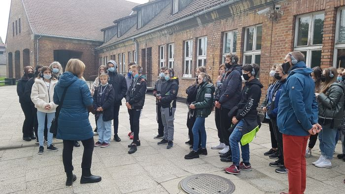 Uczniowie PSP nr 1 z wizytą w Muzeum Auschwitz – Birkenau