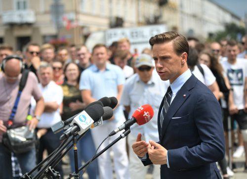 Dobry wynik Krzysztofa Bosaka w powiecie szydłowieckim