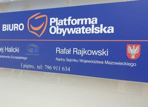Platforma Obywatelska otworzyła biuro w Szydłowcu