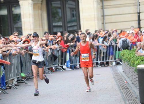 Tomasz Orman wziął udział w maratonie w Luksemburgu