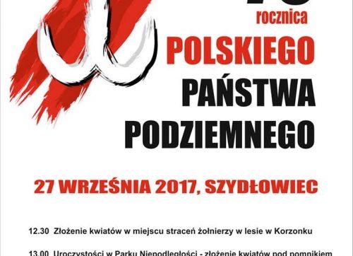 78. rocznica powstania PolskiegoPaństwa Podziemnego