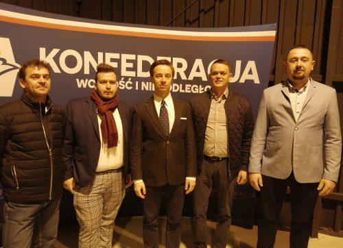 Klub Konfederacji w Szydłowcu z apelem do poseł Agnieszki Górskiej