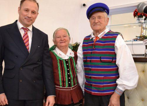 Prezent dla Danuty i Władysława Gawędów