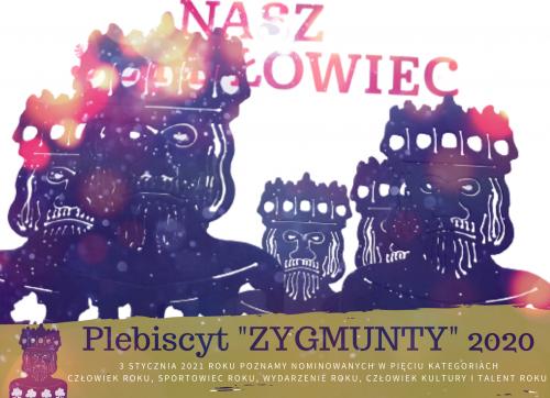 """Głosuj w Plebiscycie """"ZYGMUNTY 2020"""""""