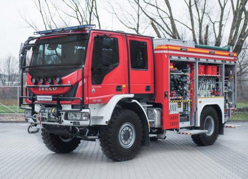 Nowy samochód dla szydłowieckiej straży pożarnej!