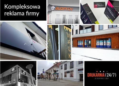 Kompleksowa reklama firmy od DRUKARNIA247.PL