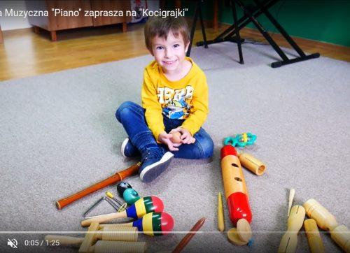"""""""Kocigrajki"""" w Pracowni Muzycznej """"PIANO"""" [VIDEO]"""