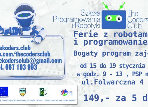 Ferie z robotami i programowaniem!