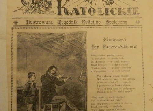 """Słówko z Szydłowca"" – Słowo Katolickie 1931 rok"
