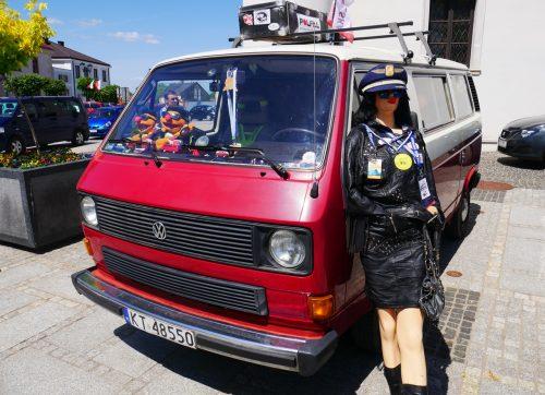 Zabytkowe auta zajechały do Szydłowca